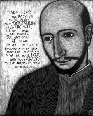 Prayer of Supplication St. Ignatius Loyola