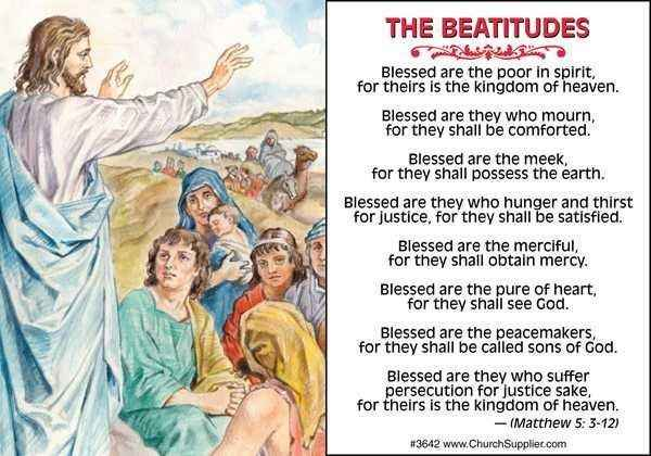 the beatitudes | Daisy in the Rain